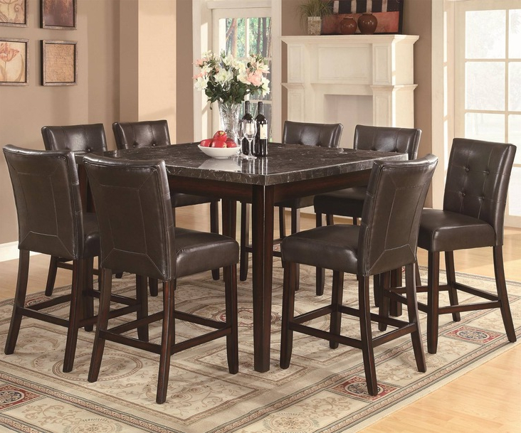 Milton Dining Tables Within Fashionable Coaster Milton Casual Dining Room Collectiondining Rooms Outlet (View 20 of 20)