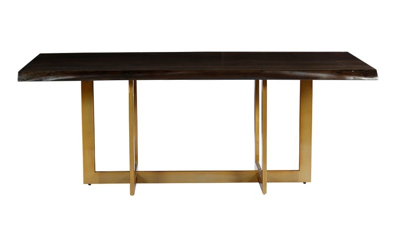 Minni Acacia Wood Slab Dining Table & Reviews (View 14 of 20)