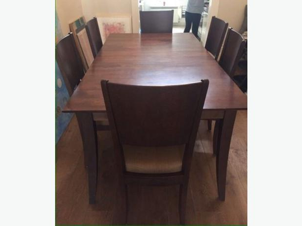 Mint Condition Baronet Java Dining Table And Two Chairs Central Inside Famous Java Dining Tables (View 12 of 20)