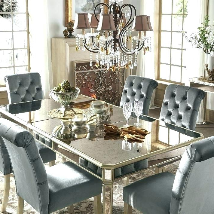Mirror Glass Dining Tables With Famous Dining Table With Mirror Mirror Dining Table Mirrored Glass Dining (View 14 of 20)