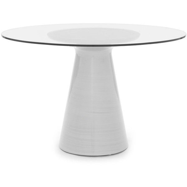 """Mitchell Gold Bob Williams Addie 48"""" Round Dining Table (23,235 Mxn Within Most Recent White Circular Dining Tables (View 6 of 20)"""
