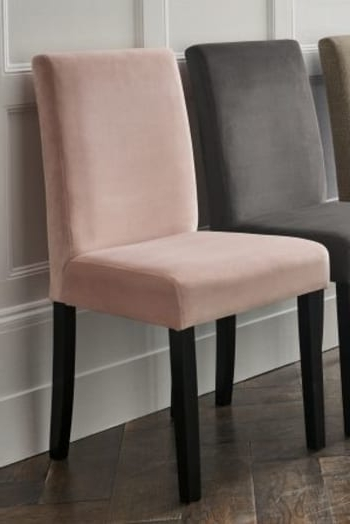 Moda Grey Side Chairs For Latest Next Set Of 2 Moda Iii Dining Chairs – Grey (View 19 of 20)
