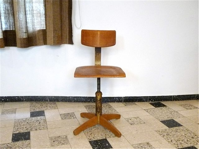 Model 350 Industrial Chairama Elastic, 1950S For Sale At Pamono Intended For Most Up To Date Amos Side Chairs (View 14 of 20)