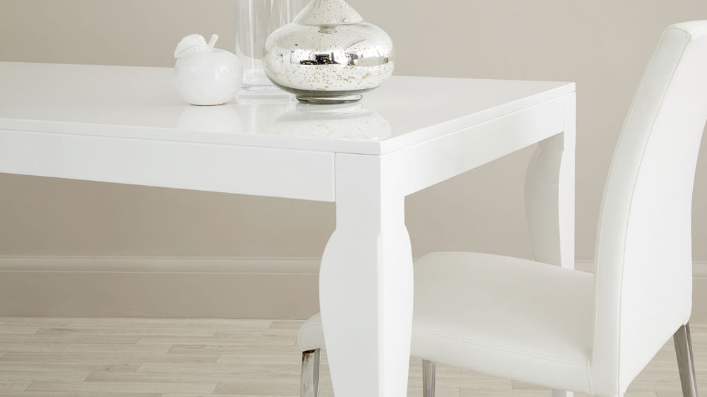 Modern 6 Seater Dining Table (Gallery 11 of 20)