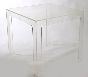 Modern Acrylic Dining Table Inside Most Recently Released Acrylic Dining Tables (View 9 of 20)