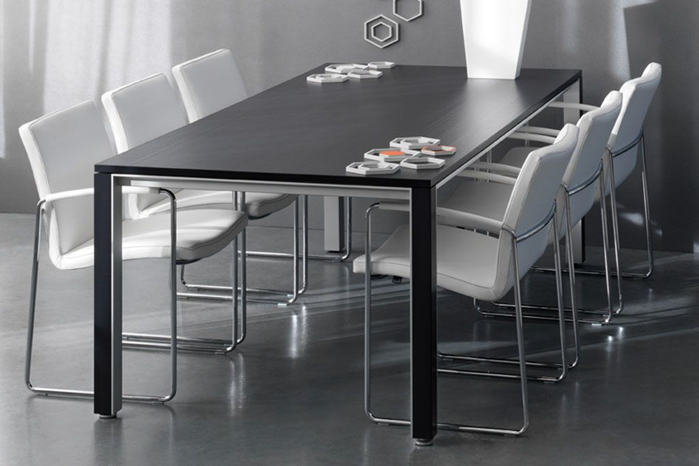 Modern Black Dining Table Ipnpfrye (View 14 of 20)