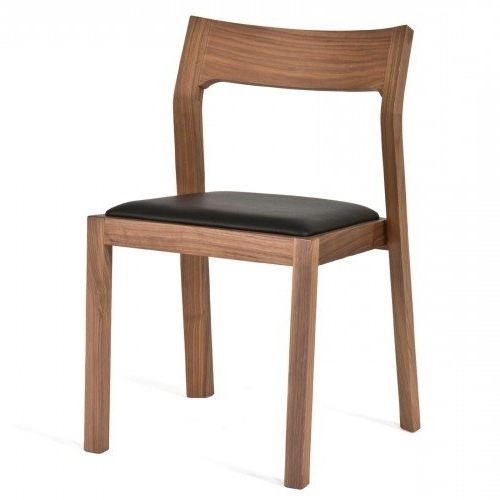 Modern & Contemporary Dining Room Chairs In Well Known Black Dining Chairs (View 12 of 20)