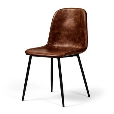Modern Dining Chairs In Well Known Cole Ii Orange Side Chairs (View 10 of 20)