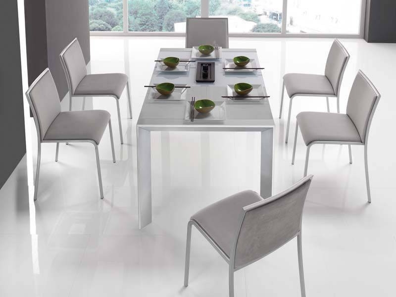 Modern Dining Room Chairs Luxury Grey Dining Chairs And White Tables Intended For Most Up To Date Contemporary Dining Room Chairs (View 3 of 20)