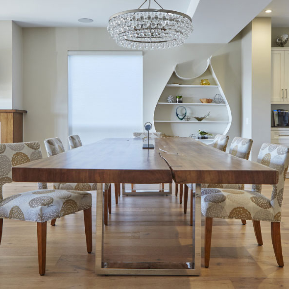 Modern Dining Room Furniture – Modern Dining Tables, Dining Chairs For Trendy Modern Dining Room Furniture (View 8 of 20)