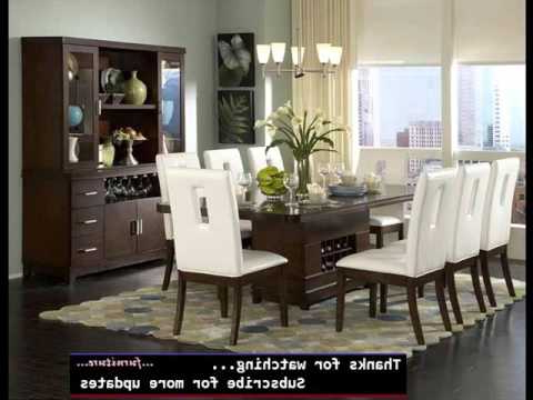 Modern Dining Room Furniture Throughout Well Liked Dining Room Furniture Modern (View 9 of 20)