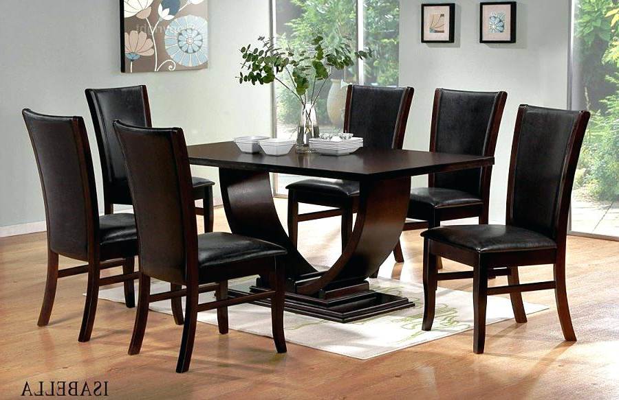Modern Dining Room Sets Dinette For Small Spaces 8 Chairs Sale With Most Current Dining Tables And 8 Chairs For Sale (View 20 of 20)