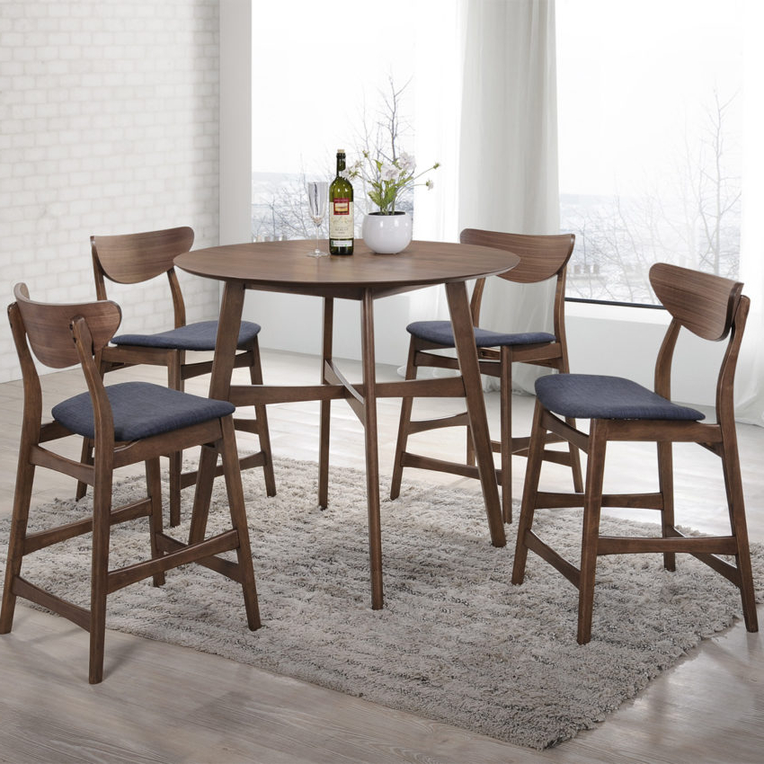 Modern Dining Sets With Regard To Famous Dining – Furniture – Mayo's Furniture & Flooring, Vermont (View 19 of 20)