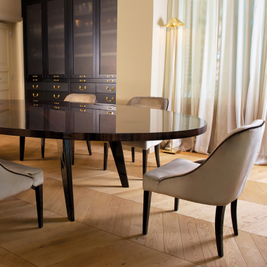 Modern Dining Suites Intended For Fashionable Dining Table Sets – Exclusive High End Luxury (View 11 of 20)