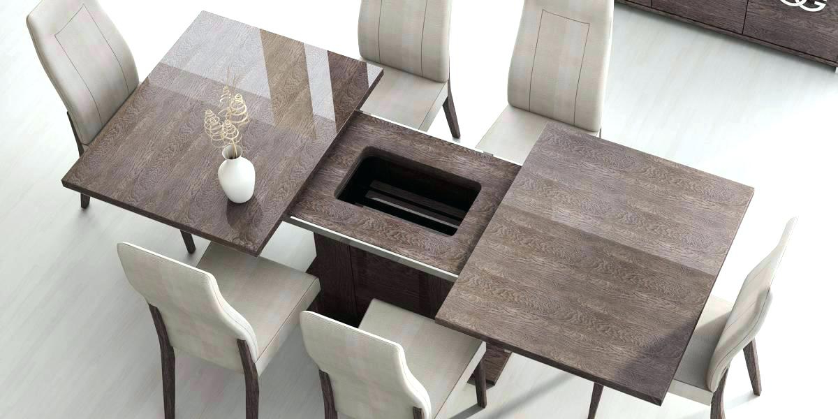 Modern Dining Table And Chairs Inside 2018 Modern Dining Table Sets Dining Room Modern Dining Room Sets Made In (View 16 of 20)