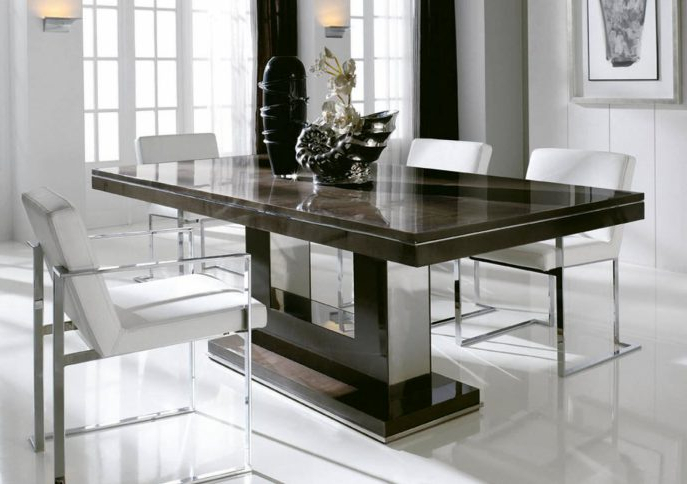 Modern Dining Table Designs Rectangular Tables Room Sets For Small Throughout Current Rectangular Dining Tables Sets (View 12 of 20)