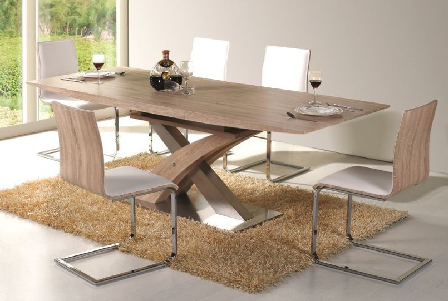 Modern Dining Tables Pertaining To Well Known Giorgio Modern Dining Table Sonoma – Mr Gregor Ltd (View 17 of 20)