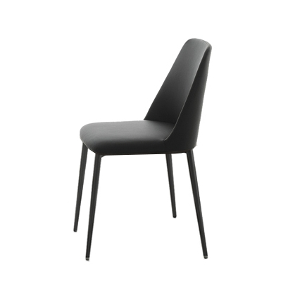 Modern Italian Inside Black Dining Chairs (View 13 of 20)