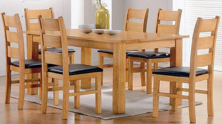 Modern Popular Marble Top Wooden Dining Table – Buy Modern Popular Inside Well Known Wooden Dining Sets (View 8 of 20)