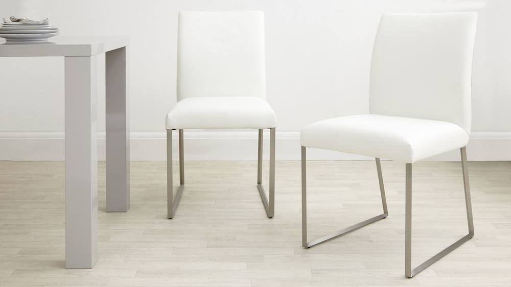Modern Real Leather Dining Chair (View 8 of 20)
