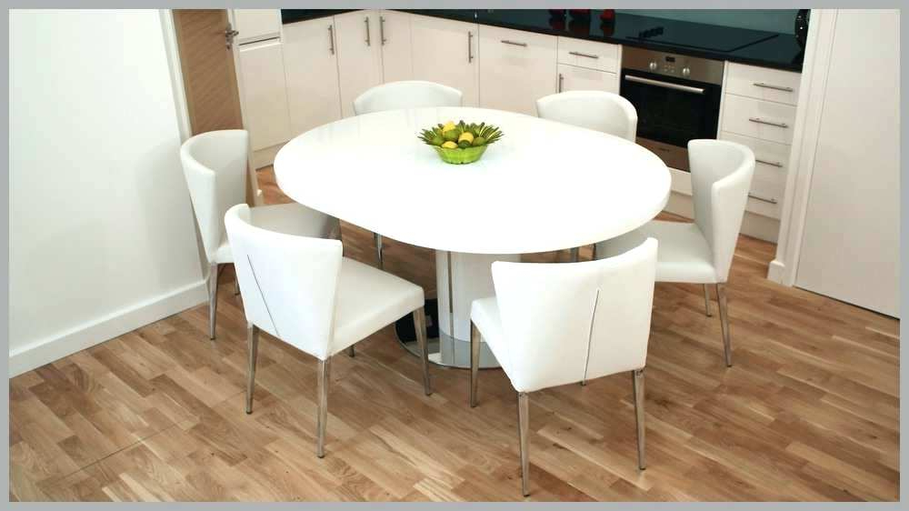 Modern Round Extendable Dining Table – Tinvietkieu Within 2018 White Round Extending Dining Tables (View 12 of 20)