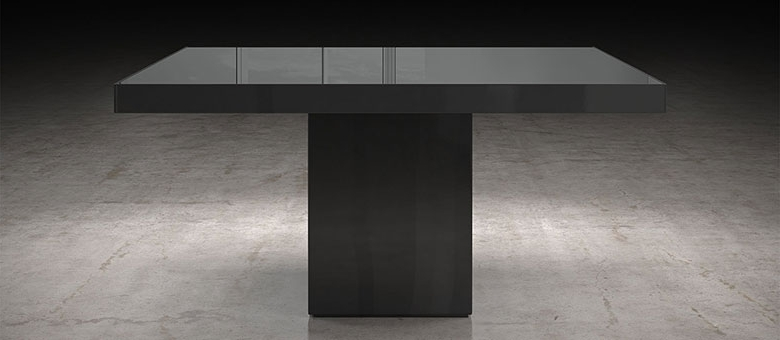 Modloft Modern Furniture, Dining Tables With Most Recently Released 87 Inch Dining Tables (View 11 of 20)
