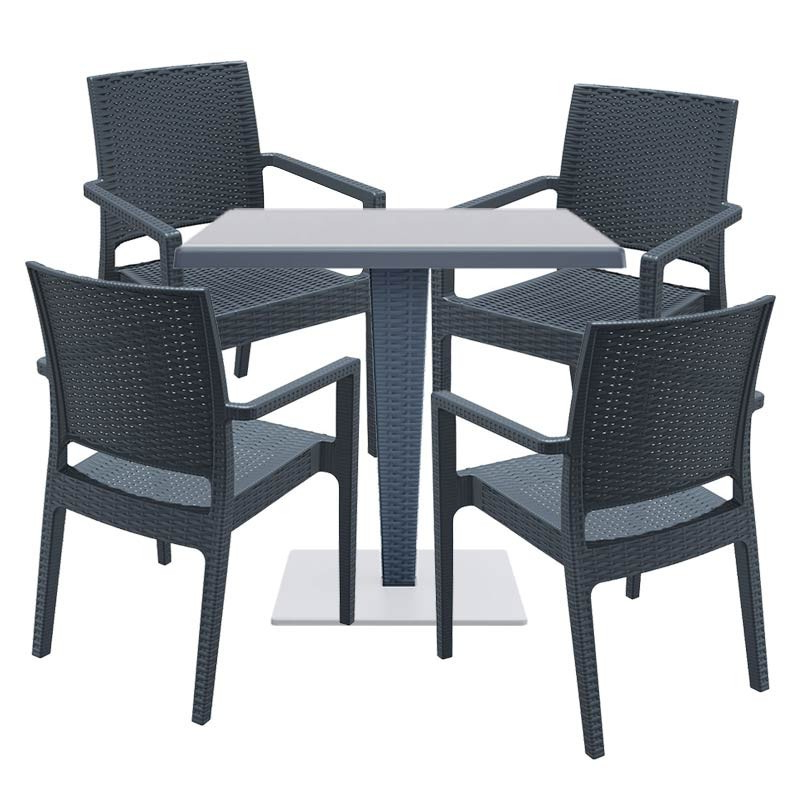 Monaco Rattan Within Monaco Dining Sets (Gallery 13 of 20)