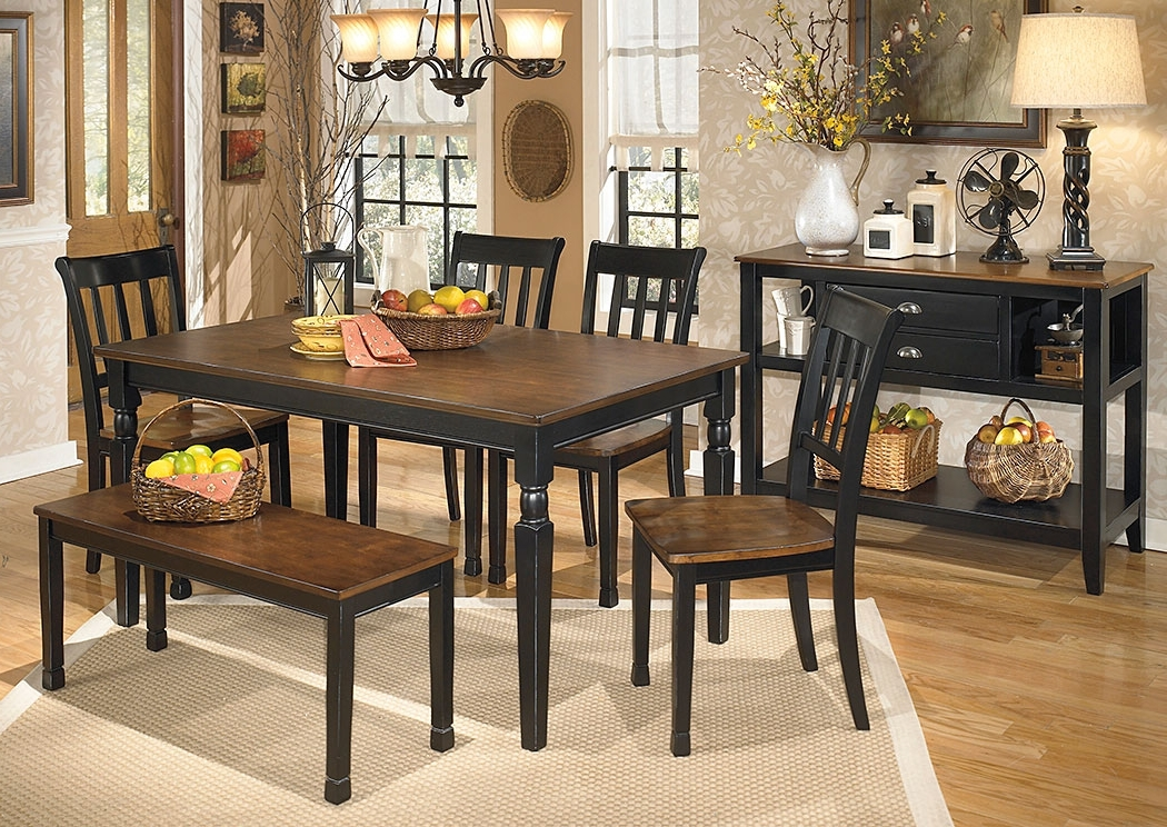 Moran's Furniture Store – Jamestown, Ny Owingsville Rectangular Regarding 2018 Craftsman 5 Piece Round Dining Sets With Side Chairs (View 11 of 20)