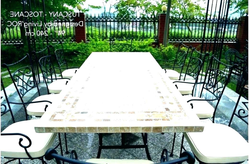 Mosaic Dining Tables Mosaic Dining Table Gorgeous Mosaic Table Top In Widely Used Mosaic Dining Tables For Sale (View 14 of 20)