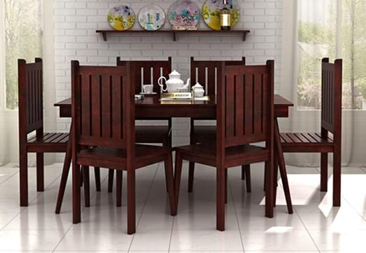 Most Current 6 Seater Dining Set – Welcome To Furnitureparkonline Inside Dining Table Sets With 6 Chairs (View 3 of 20)