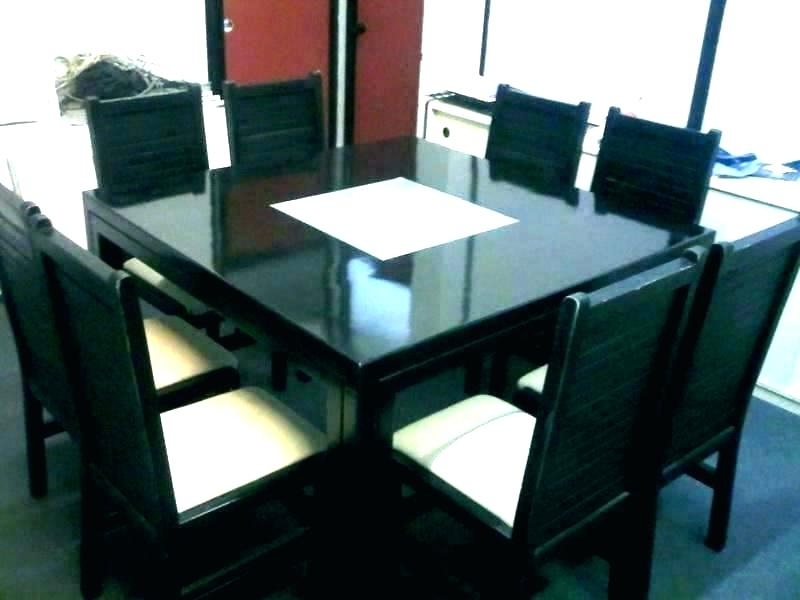 Most Current 8 Seater Black Dining Tables For Dining Tables 8 Seater – Tinvietkieu (View 13 of 20)