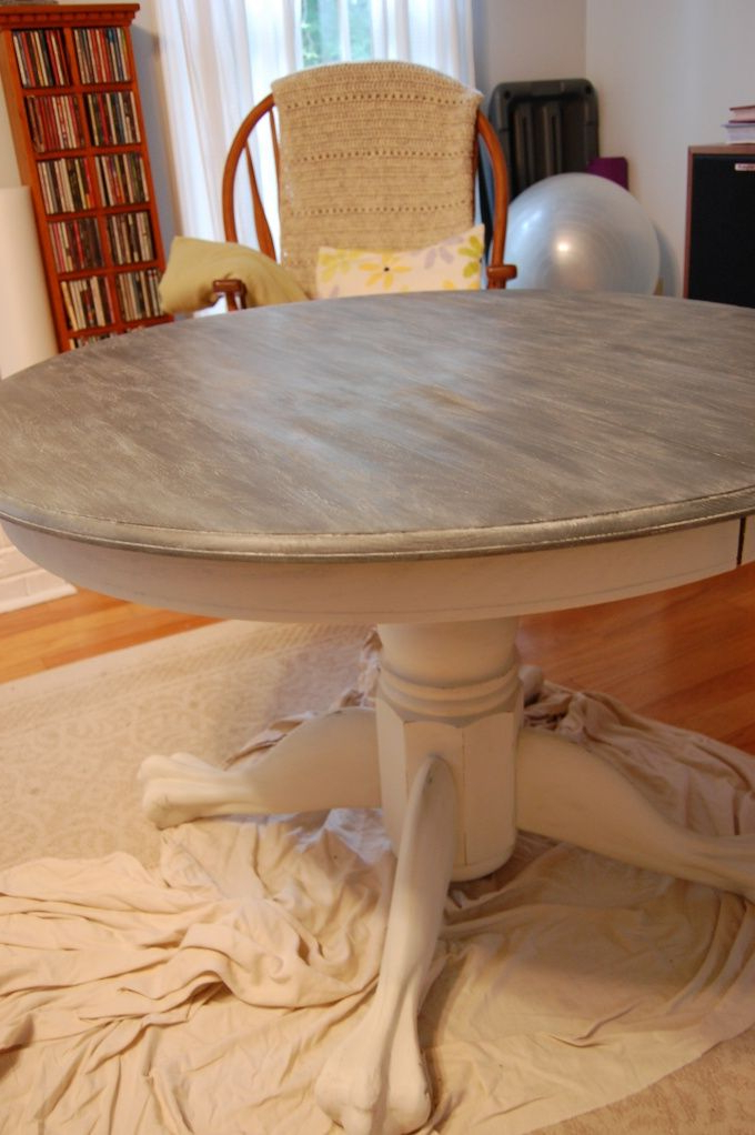 Most Current Annie Sloan – Technique For A Limed Oak Table Plus (View 9 of 20)