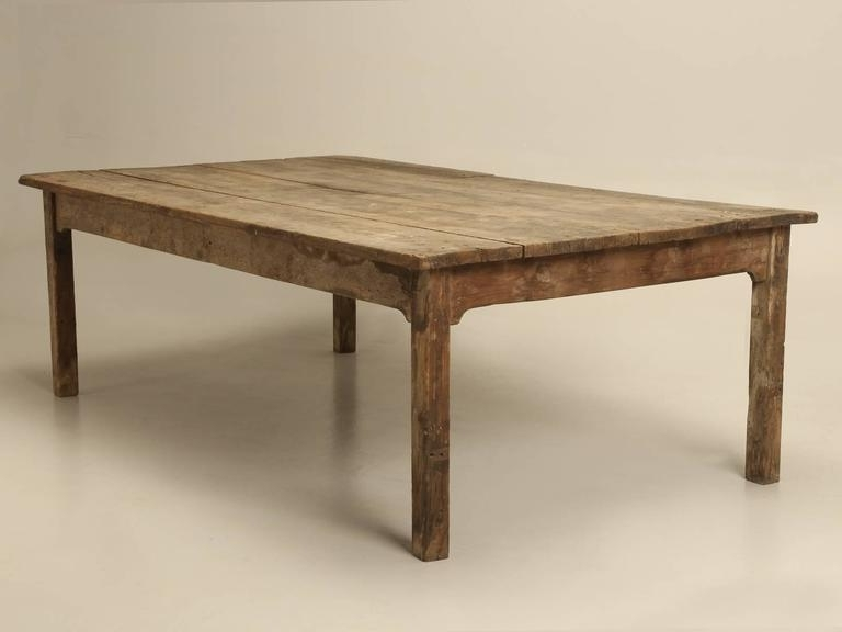 Most Current Barn House Dining Tables Regarding Antique Farm House Dining Table From France For 12 At 1Stdibs (View 12 of 20)