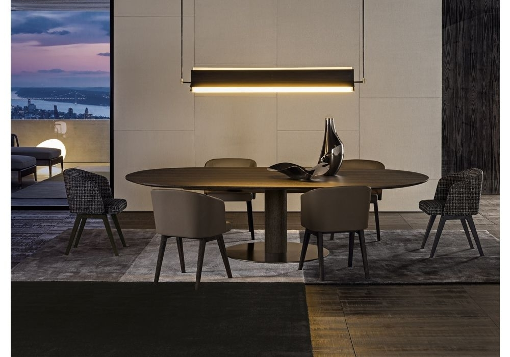 Most Current Bellagio Dining Tables In Bellagio Dining Wood Minotti Table In  (View 13 of 20)
