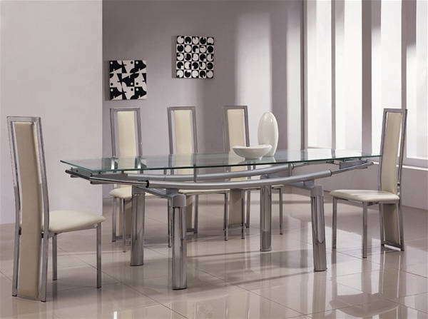 Most Current Black Extendable Dining Tables Sets With Regard To Extendable Dining Room Tables And Chairs Magnificent 6 Extending In (View 16 of 20)