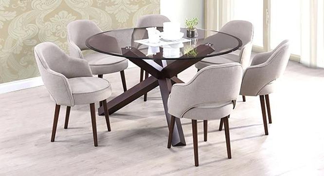 Most Current Black Glass Dining Tables 6 Chairs For 16 Best Dining Room Images On Pinterest (View 15 of 20)