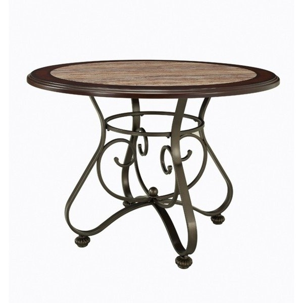 Most Current Bradford Dining Tables Throughout Shop Powell Bradford Dining Table – Bronze – On Sale – Free Shipping (View 15 of 20)