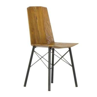 Most Current Brown – Wood – Solid Wood – Dining Chairs – Kitchen & Dining Room In Plywood & Metal Brown Dining Chairs (View 9 of 20)