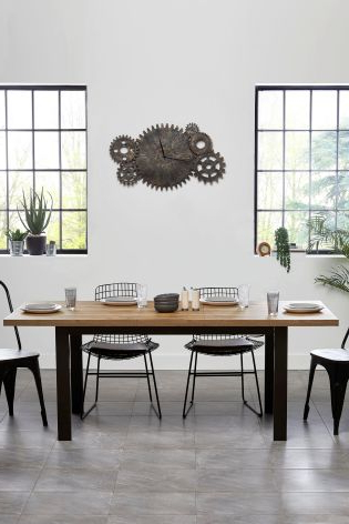 Most Current Buy Bronx 6 8 Seater Extending Dining Table From The Next Uk Online Shop Intended For Extendable Dining Tables With 8 Seats (View 12 of 20)