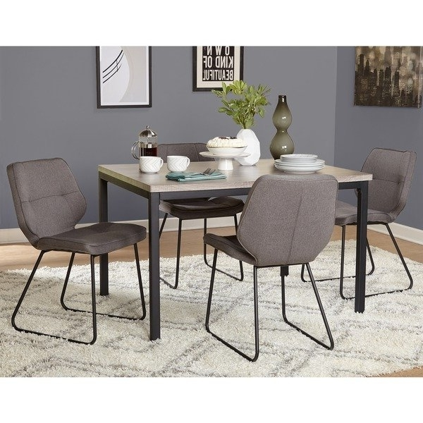 Most Current Caden 6 Piece Rectangle Dining Sets For Shop Simple Living 5 Piece Kaden Dining Set – Free Shipping Today (View 10 of 20)