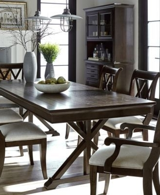 Most Current Chapleau Ii 7 Piece Extension Dining Tables With Side Chairs For Baker Street Dining Furniture, 7 Pc (View 3 of 20)