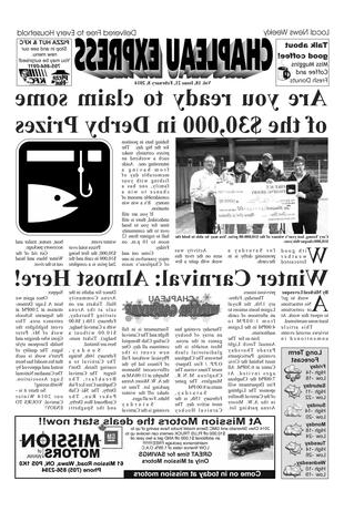 Most Current Chapleau Ii Extension Dining Tables With Regard To 02082014 February 8 2014The Chapleau Express – Issuu (View 13 of 20)