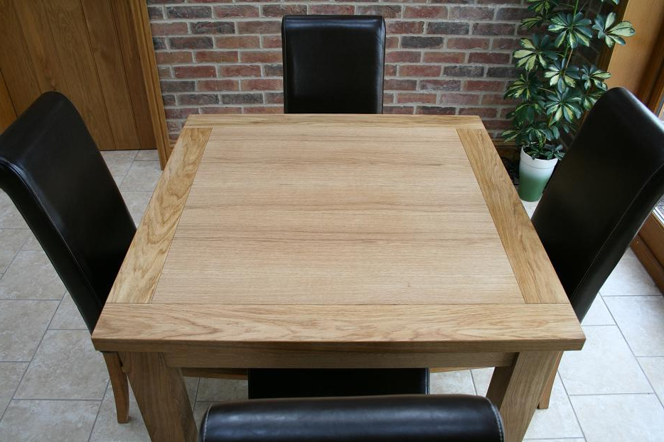 Most Current Cheap Dining Tables And Chairs From Oakdiningsets Inside Square Oak Dining Tables (View 8 of 20)