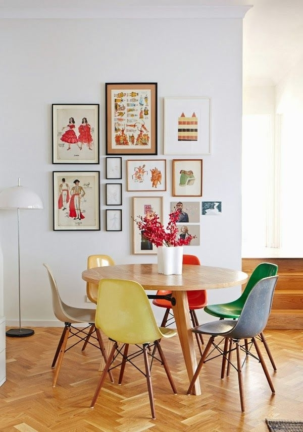 Most Current Colourful Dining Tables And Chairs Regarding Why Should Dining Room Chairs Have To Be The Same Colour? Love This (View 9 of 20)
