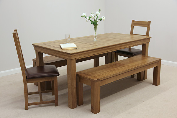 Most Current Creative Design Oak Benches For Dining Tables 73 – Strawberryperl Pertaining To Dining Tables And 2 Benches (View 15 of 20)
