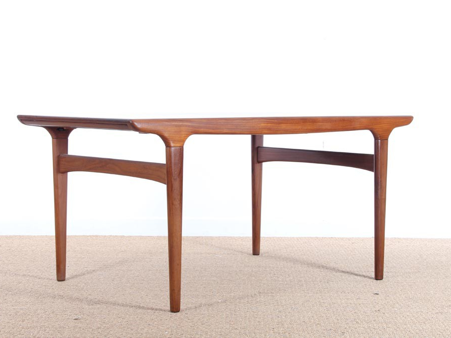 Most Current Danish Dining Tables In Mid Century Modern Danish Dining Table In Teakjohannes Andersen (View 13 of 20)