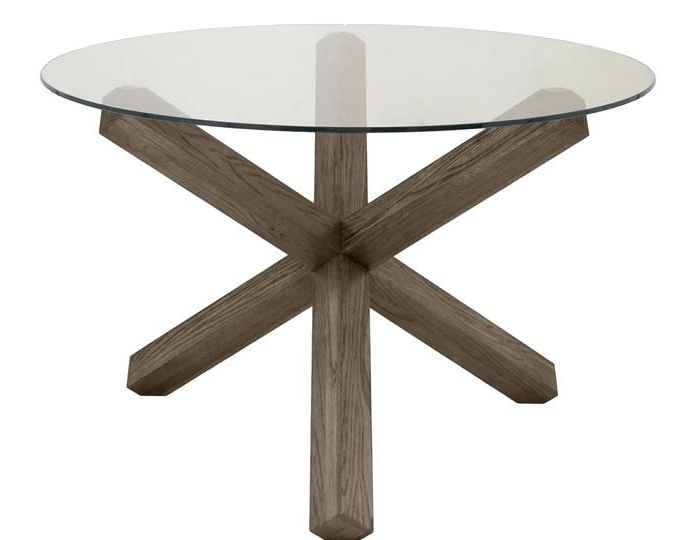 Most Current Dark Oak Dining Tables And Chairs Table Uk Nz Glass Round Hunt Intended For Glass Oak Dining Tables (View 14 of 20)