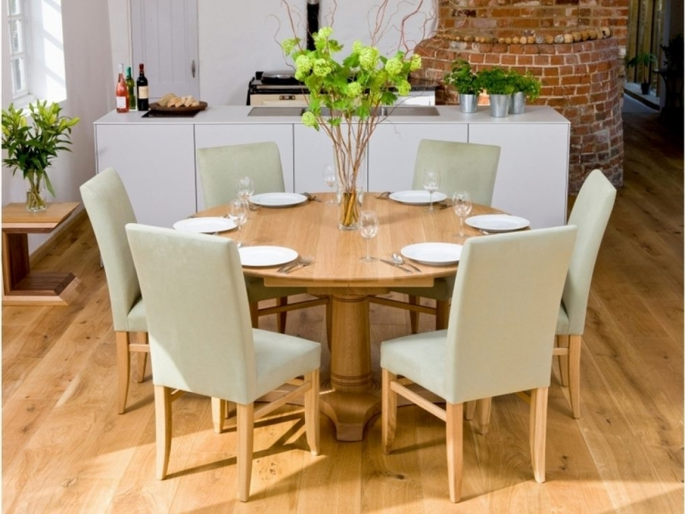 Most Current Decorating Nice Dining Table Set 6 Seater Formal Room Ideas Casual For Candice Ii Round Dining Tables (View 19 of 20)