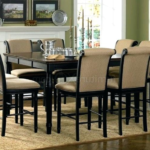 Most Current Dining Tables 8 Chairs Inside High Top Kitchen Table 8 Chairs. 8 Seater Kitchen Table And Chairs (Gallery 4 of 20)