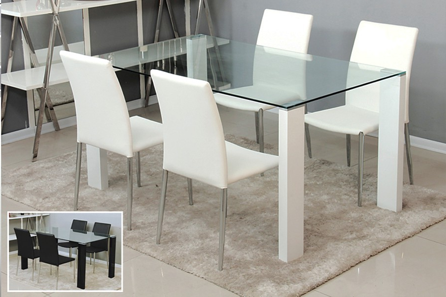 Most Current Glass Dining Tables Intended For The Need For The Contemporary Glass Dining Table – Home Decor Ideas (View 9 of 20)